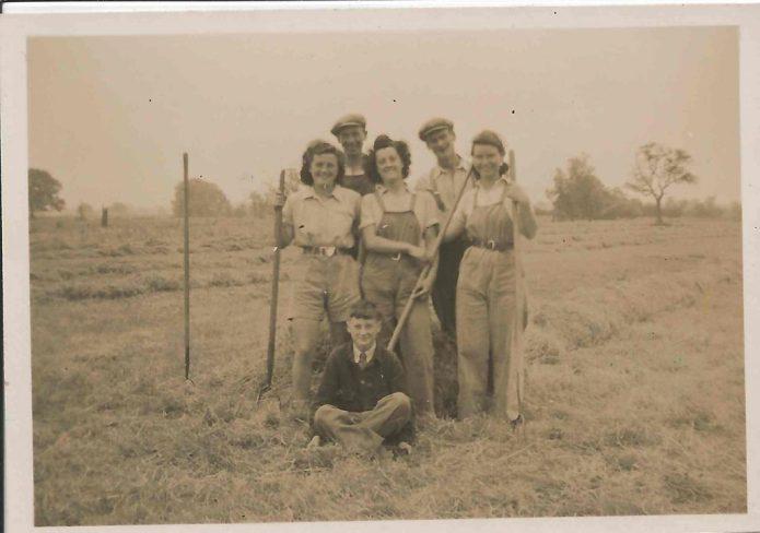 Farm workers at Kit's farm?