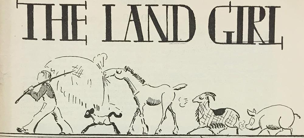 The Land Girl Image January 1942