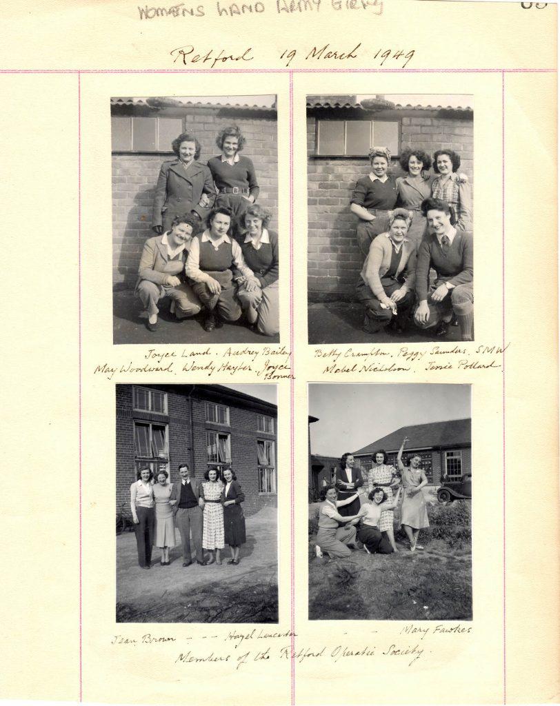 WLA Retford Album Page 5