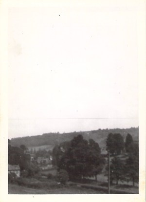 Views from Coombe Road, Women working in woods at Wootton-u-Edge, 1943.