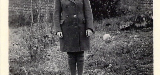 Joy in her Women's Timber Corps uniform.