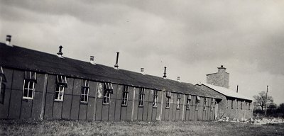 1st photo of Bolnhurst Hostel, run by the YWCA in Bedfordshire from 1942 to 1949. It shows the long wooden dormitory block and brick-built ablutions block, with water tower. The 2nd illustration shows the typical layout of the hutment hostels. The 3rd photo shows the interior of a hostel dormitory block. Courtesy of Stuart Antrobus, author of We wouldn't Have Missed it for the World.