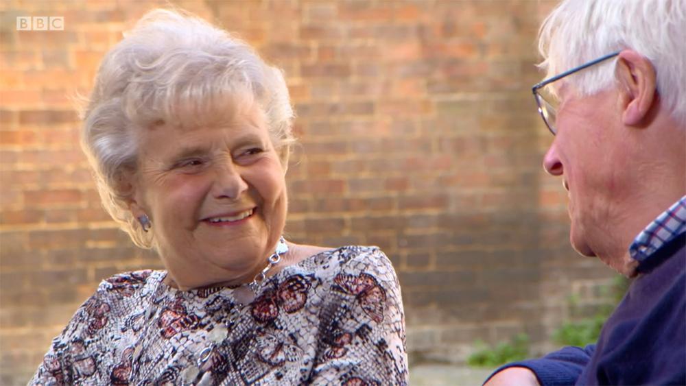 Zeita smiling on BBC Countryfile
