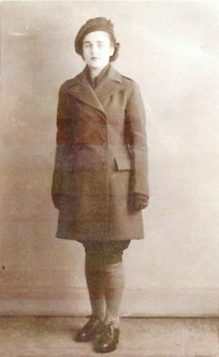 Christina Forrester in full WTC uniform