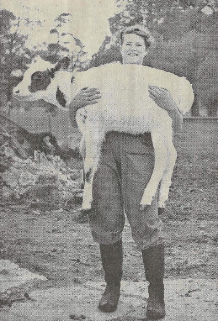 Vivian Kipling in The Land Girl, September 1944, p.6