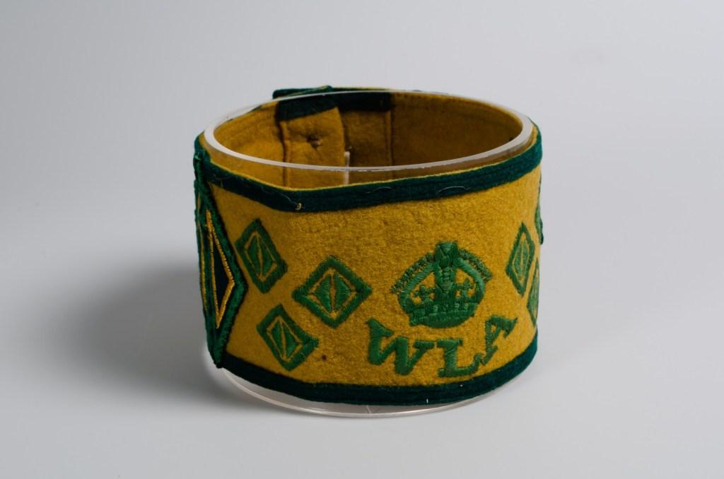 Women's Land Army Yellow Armband