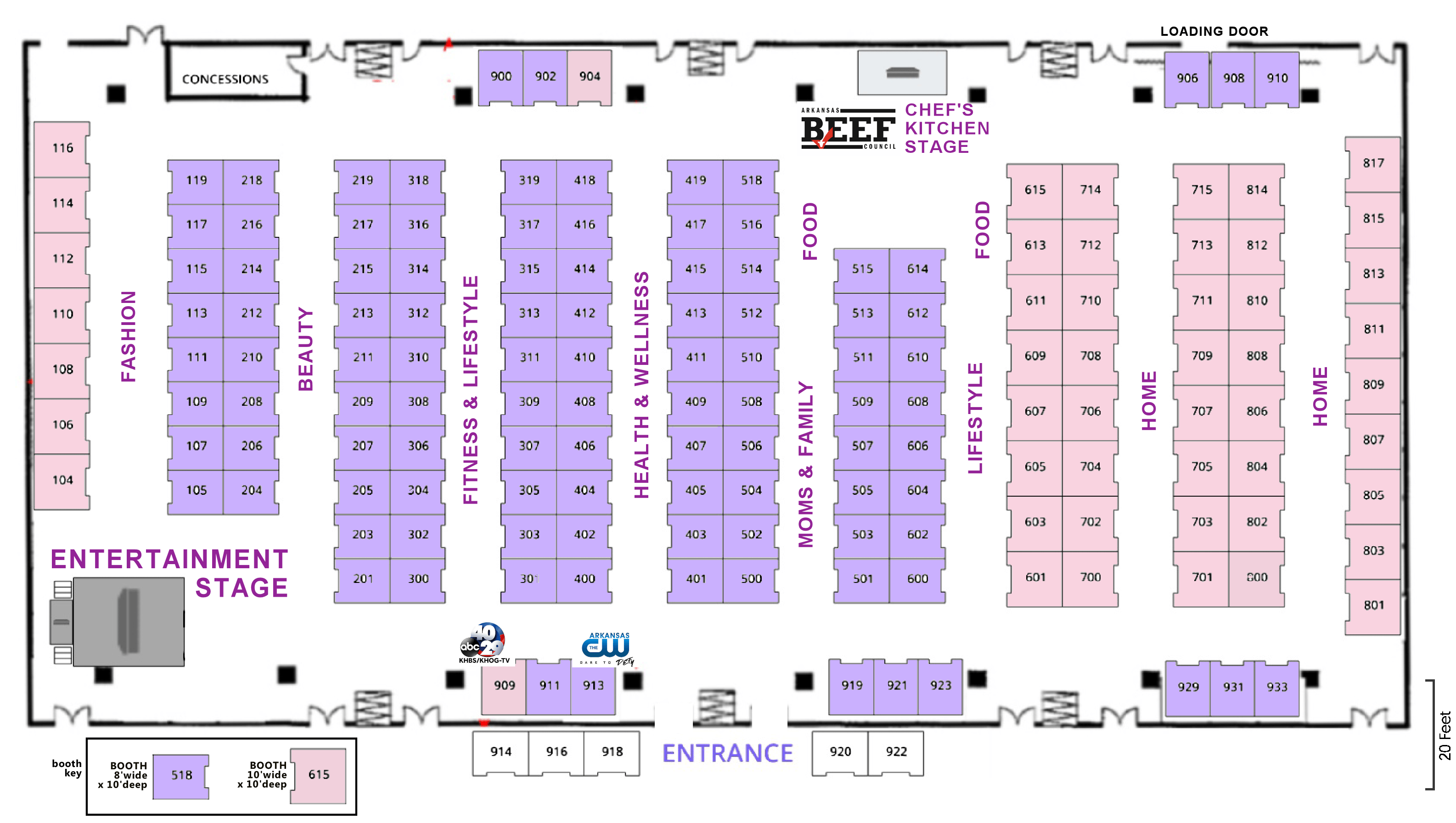 Booth Layout