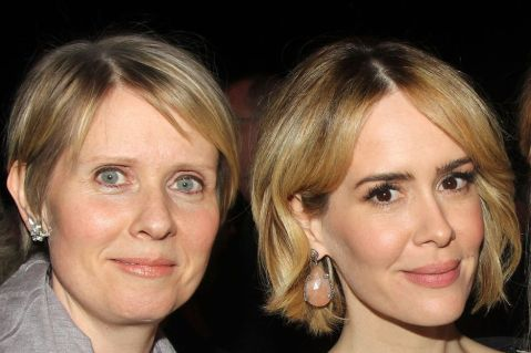 Sarah Paulson and Cynthia Nixon from Netflix's Ratched