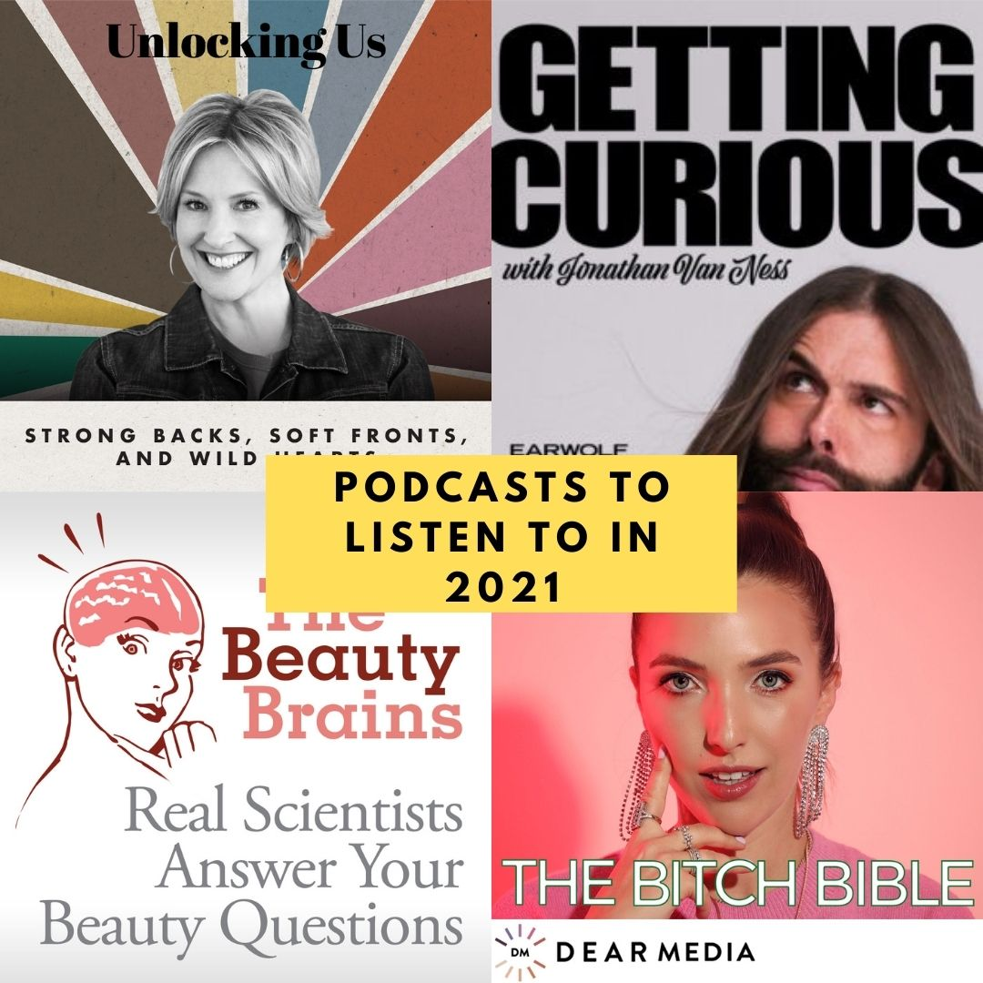 unlocking us image, getting curious cover, the beauty brains cover, the bitch bible cover