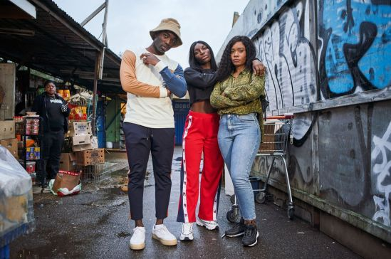 An example of Black British excellence: Paapa Essiedu, Michaela Coel, Weruche Opia in I May Destroy You