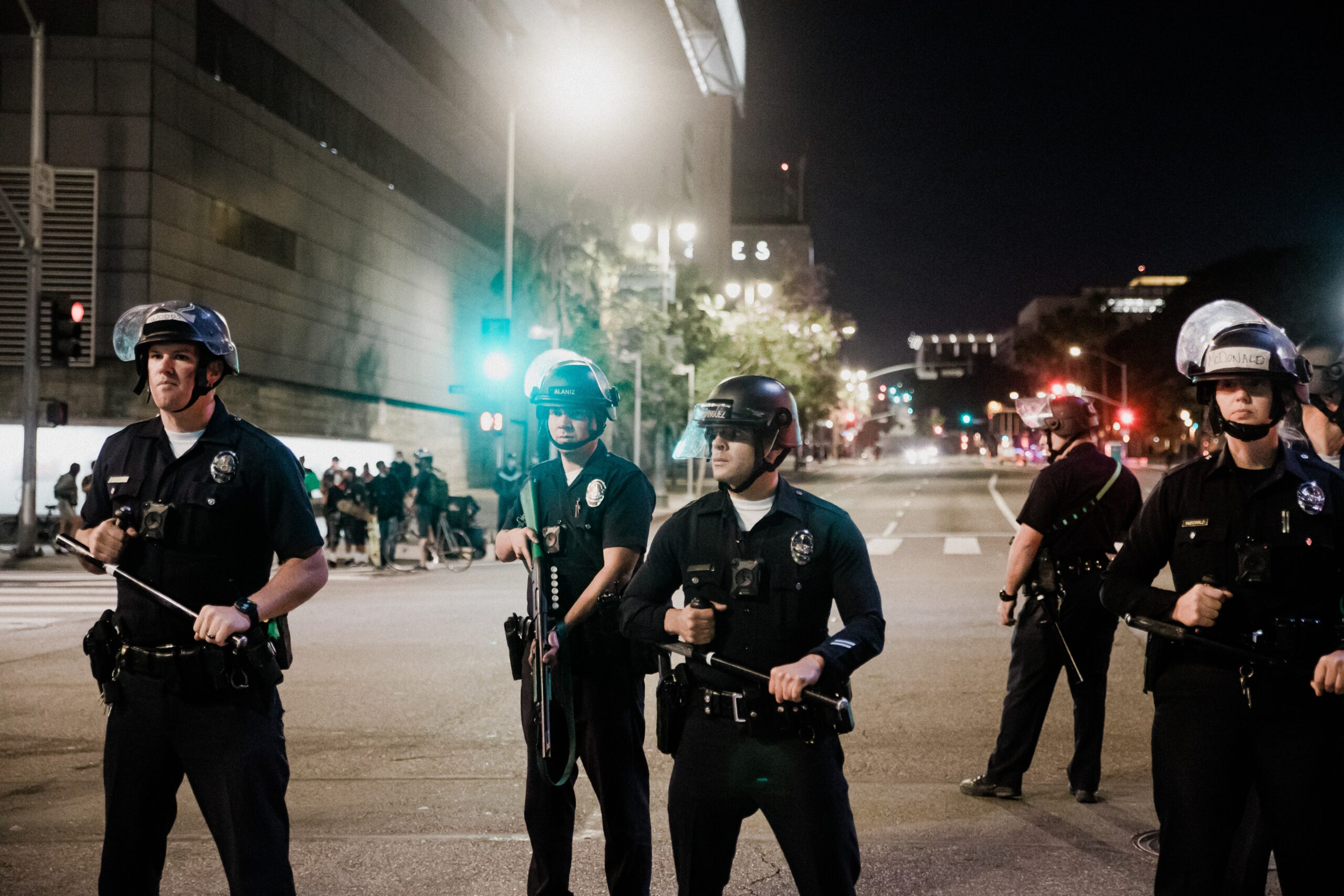 defund the police protest