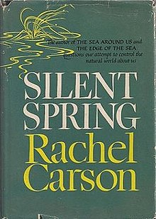 Silent Spring by Rachel Carson - first edition cover