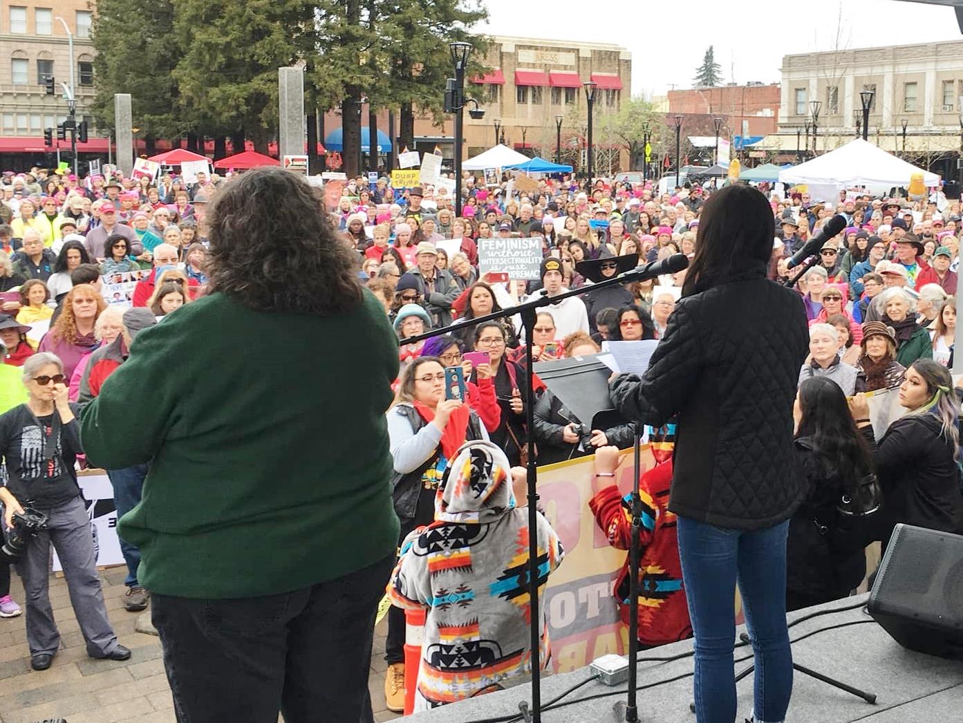 Santa Rosa Women's Rally 2019 speakers -