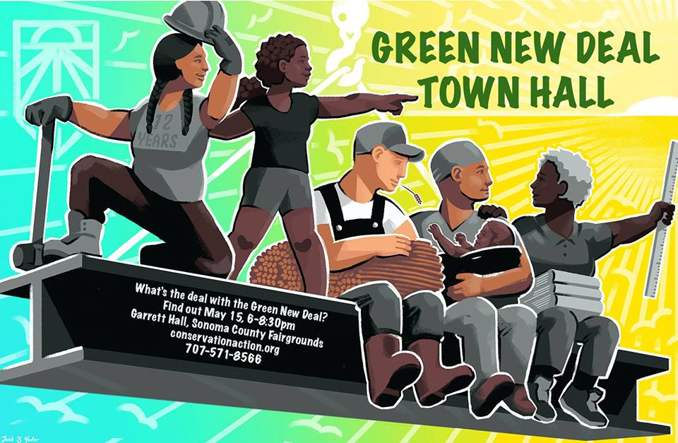 Green New Deal Town Hall May 15