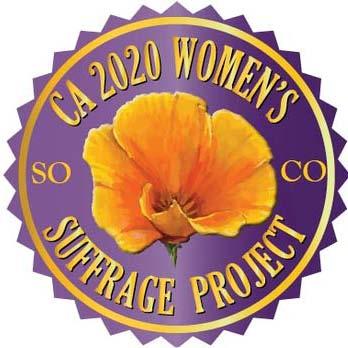 Sonoma County Woimen's Suffrage 2020 logo