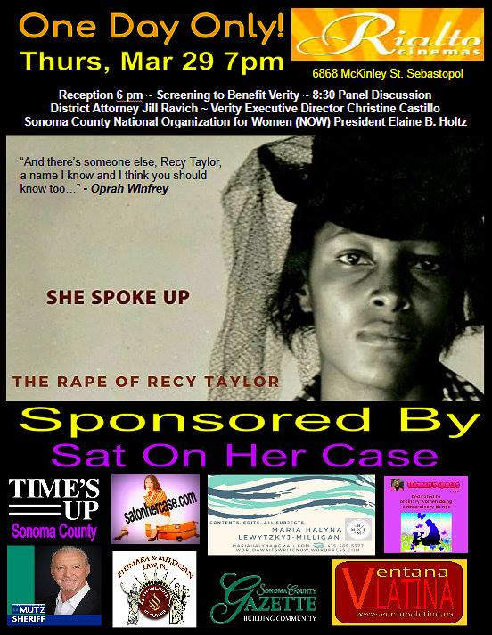 Screening of film Rape of Recy Taylor