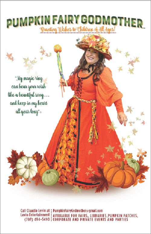 Pumpkin Fairy Godmother
