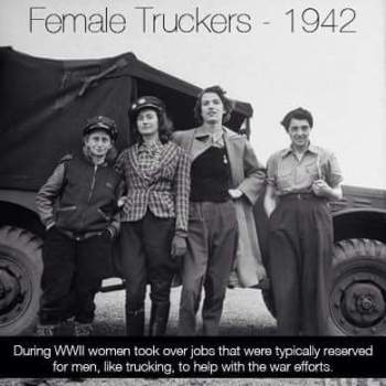 Women have been driving since 1942-Join us!
