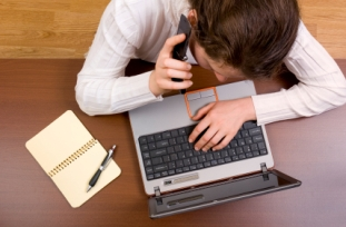 Handling a telephone interview