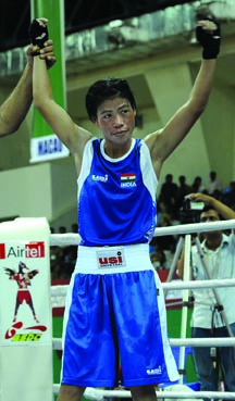 4TH ASIAN WOMEN BOXING CHAMPIONSHIP IN GUWAHATI