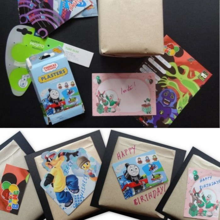 Recycled Craft Projects: Gift Tags