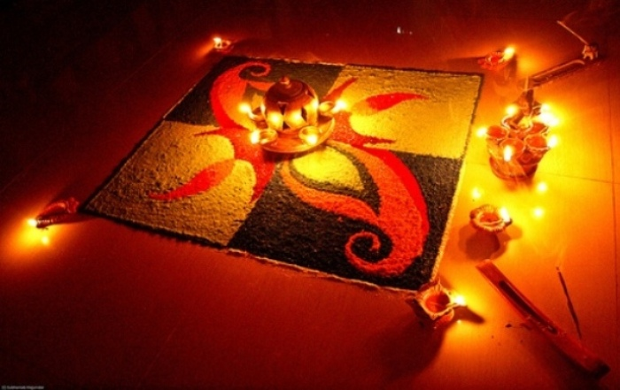 Rangoli: A Diwali Family Ritual