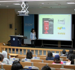 Teaching business to women entrepreneurs