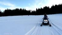 snow mobile Poland