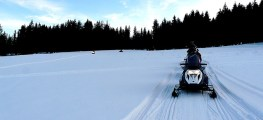 snow mobile Poland