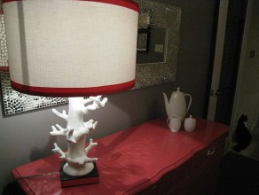 DIY Home Decor: New lampshade