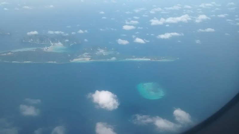 The aerial view