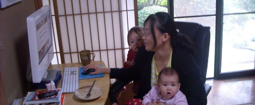 working-mother-at-home