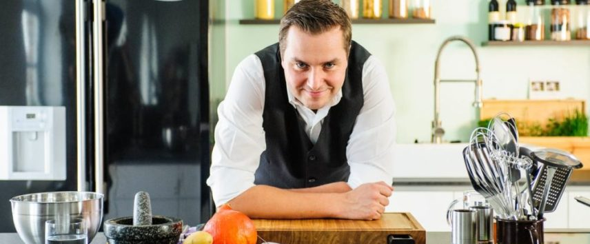 man who cooks