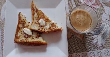 spicy milk sandwich