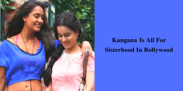 Kangana bollywood sisterhood