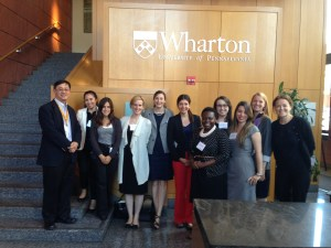 The Staff of Women's World Banking at the Wharton Leadership Conference