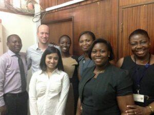 Our final day of meetings in Ghana