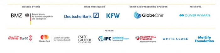 Making Finance Work for Women Summit Sponsors