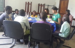 Women's World Banking conducting a focus group with Tanzanian youth