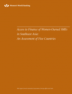 cover_Access to Finance of Women-Owned SMEs in Southeast Asia An Assessment of Five Countries
