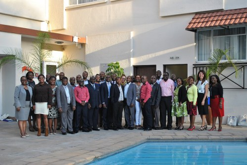 Women's World Banking Management Training Program Cohort at NBS Bank, Malawi