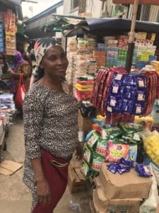 The last link in an FMCG value chain in Nigeria