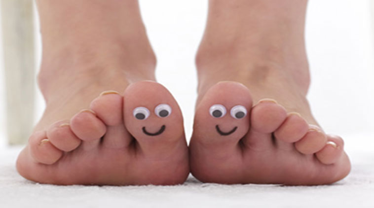 How to keep your feet happy?