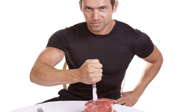 Are Meat eater stronger than veggie