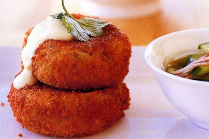 Sardine-Potato Cakes