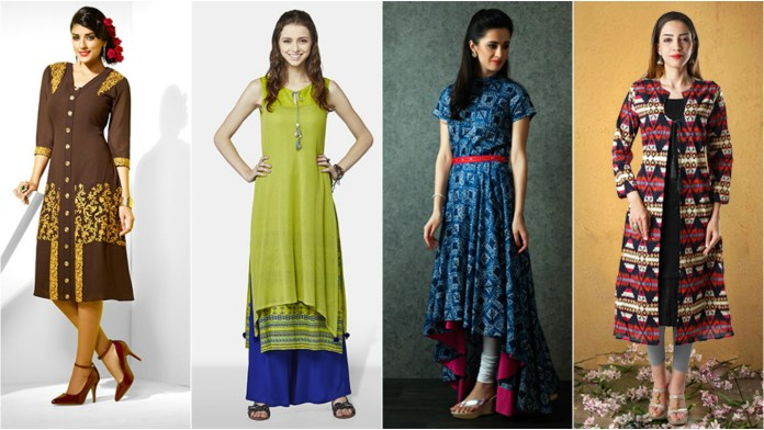 Women in Kurtis