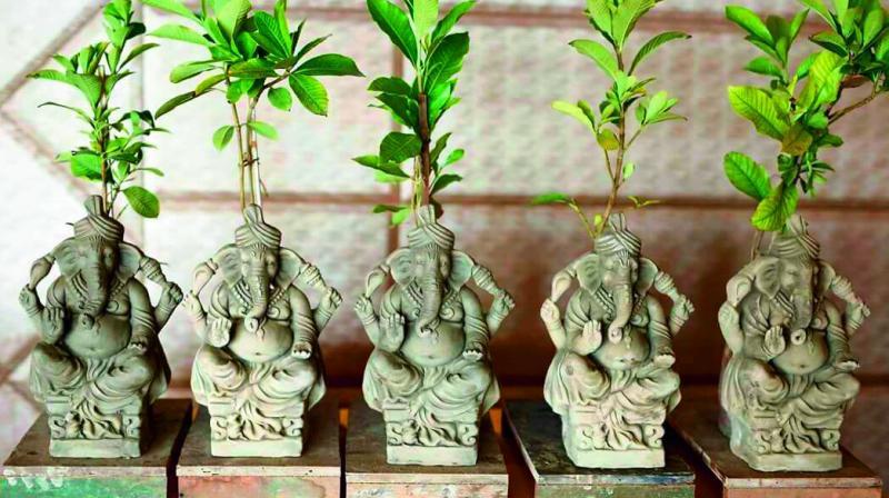 Go Green Ganesh Chaturthi 2018: Seed Ganeshas!