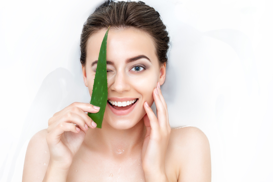 Aloe Vera for Skin and Hair care