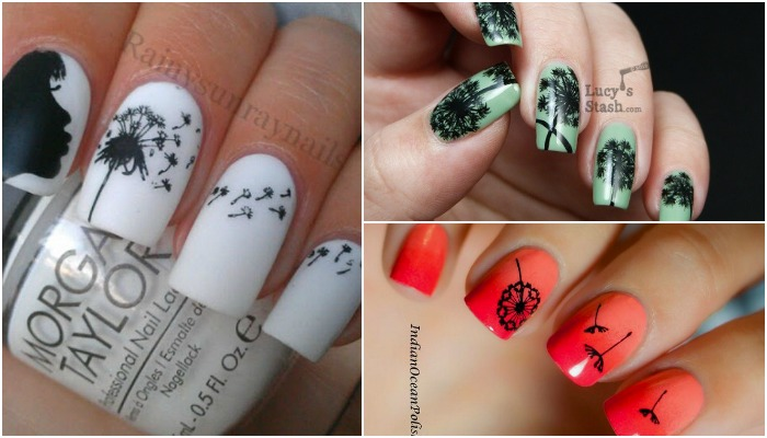 15 Cute Dandelion Nail Art Ideas And Tutorials