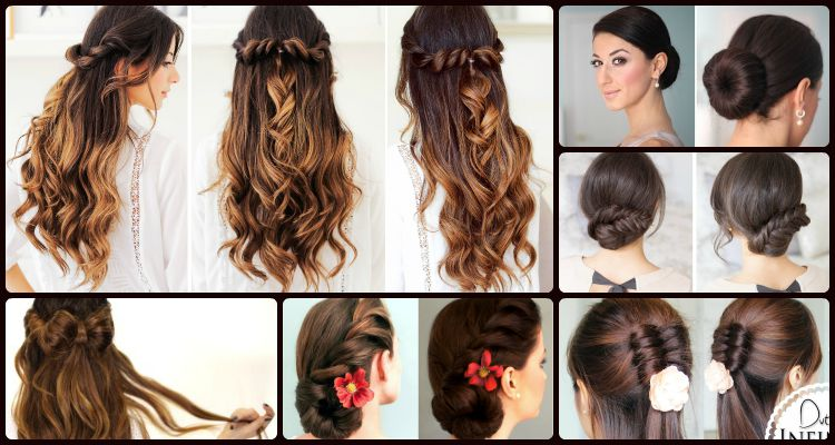 6 Elegant And Easy Updo And Half Updo Hairstyles That Can